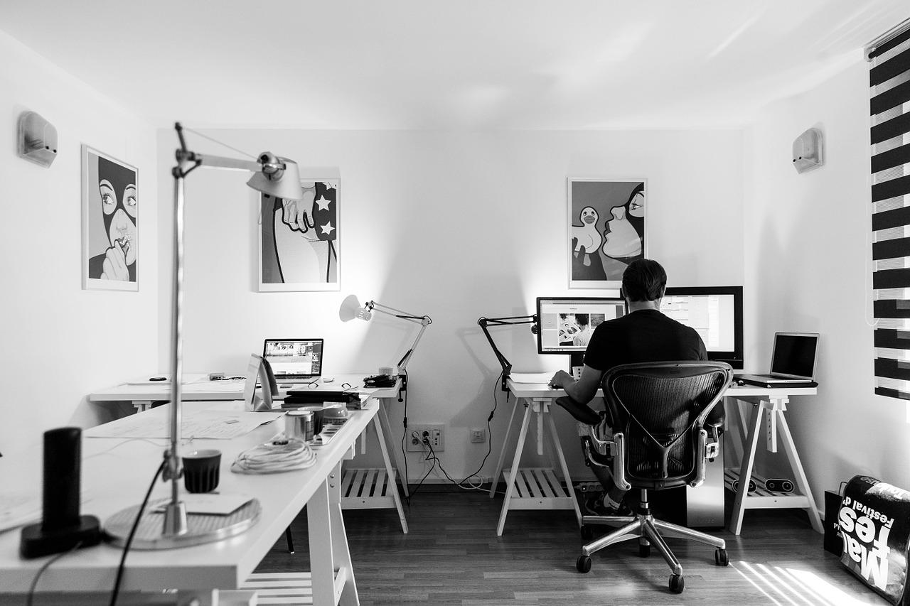 travail domicile bureau