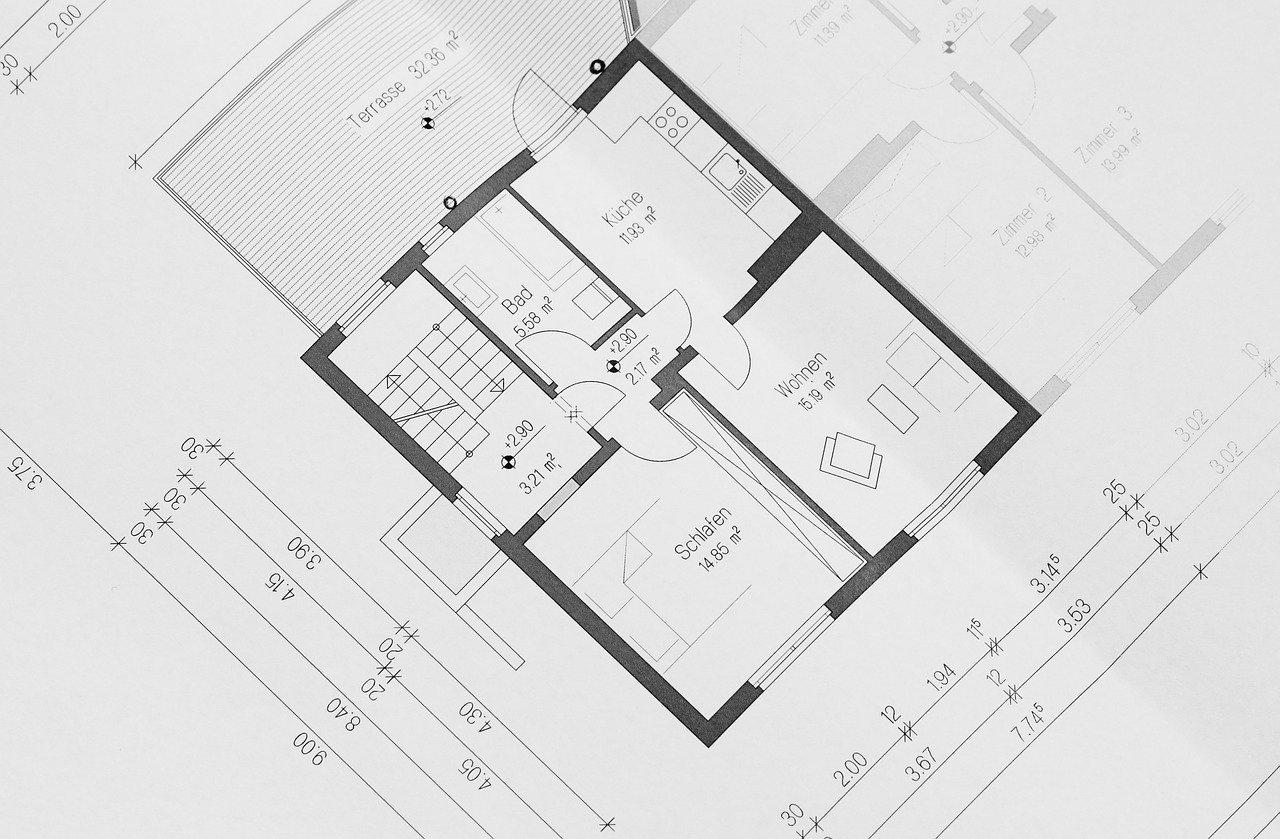 plan etage maison